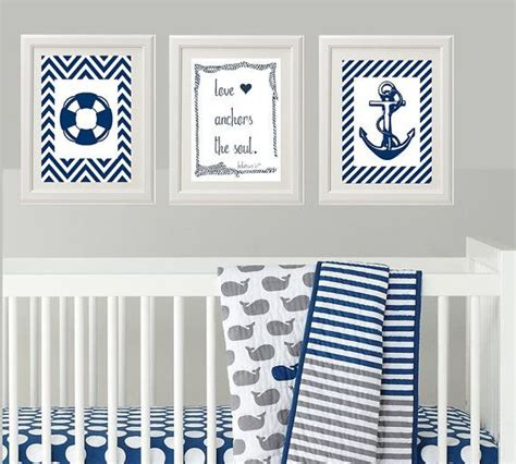 Distressed finish in worn navy with aged look; This item is unavailable   Nautical baby room, Nursery wall decor boy, Baby decor