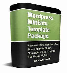WordPress Minisite Package with Master Resale Rights ...