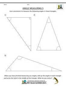 Measuring Angles Worksheet 4th Grade
