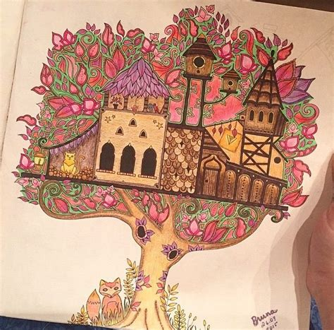 images  enchanted forest coloring ideas