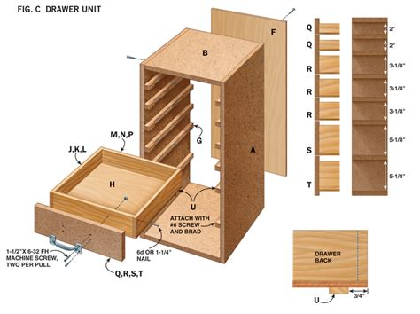 simple  purpose shop cabinets popular woodworking