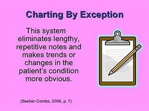 What Is Charting By Exception Examples Documentation 101 Bmh Tele