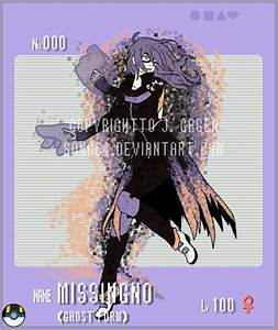 Gijinka Pokemon- MissingNo Ghost Form by Song64 on DeviantArt