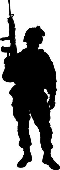 soldier silhouette images soldier silhouette
