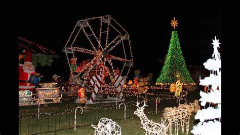 ferris wheel christmas decoration outdoor youtube