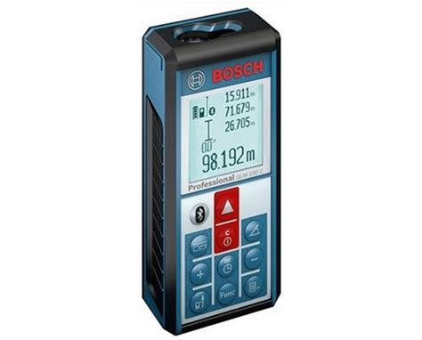 bosch glm 100 c laser distance meter with bluetooth