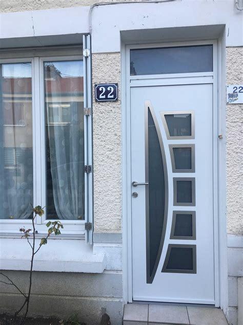 dov ouvertures porte d entree avec imposte k line en r 233 gion nantaise
