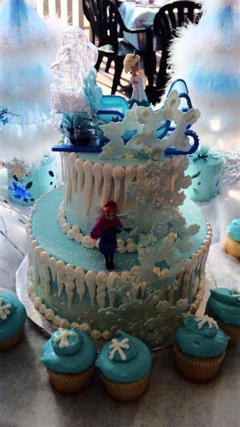 disney frozen birthday cake ideas