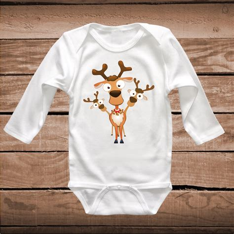 reindeer shirt holiday tees cute christmas  shirt