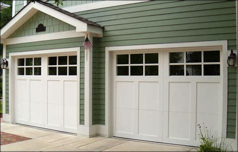 Wood Carriage Style Garage Doors