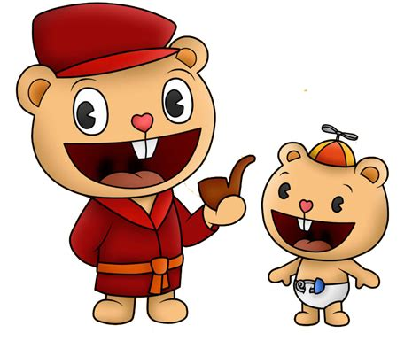 Pop Y Cub Happy Tree Friends Png By Miqita On Deviantart