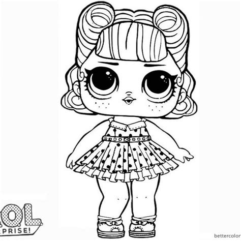 Lol Doll Coloring Pages Printable Jambestlune