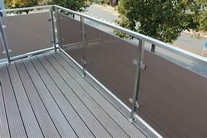 Edelstahl Sichtschutz Metall : sichtschutz balkon ~ Orissabook.com Haus und Dekorationen