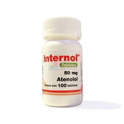internol atenolol 50 mg 100 tab farmacia del niã o