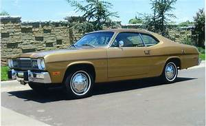 I Had A 1974 Plymouth Duster  It Was Brown With Tan