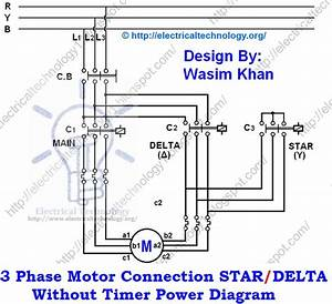 Star-delta Starter Motor Starting Method