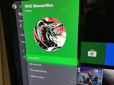 Xbox Custom Profile Pic Glitch