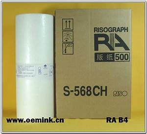 Riso Master - Duplicator Paper  Thermal Master