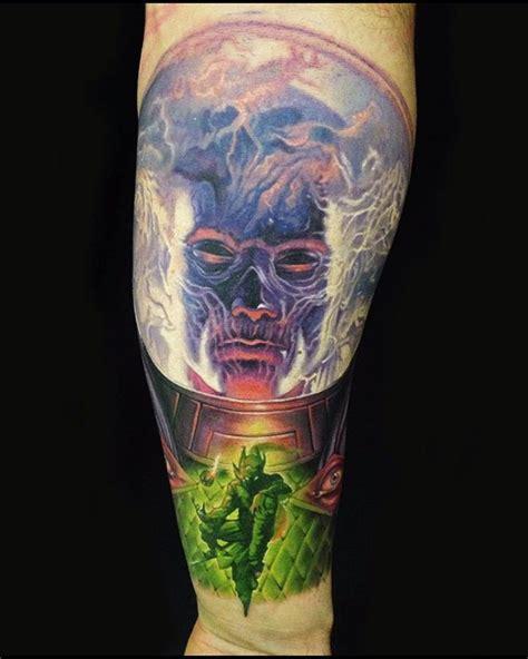 marvel sleeve  tattoo design ideas