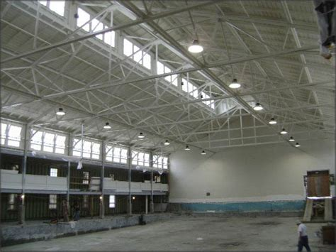 projects led high bay light application high bay l project