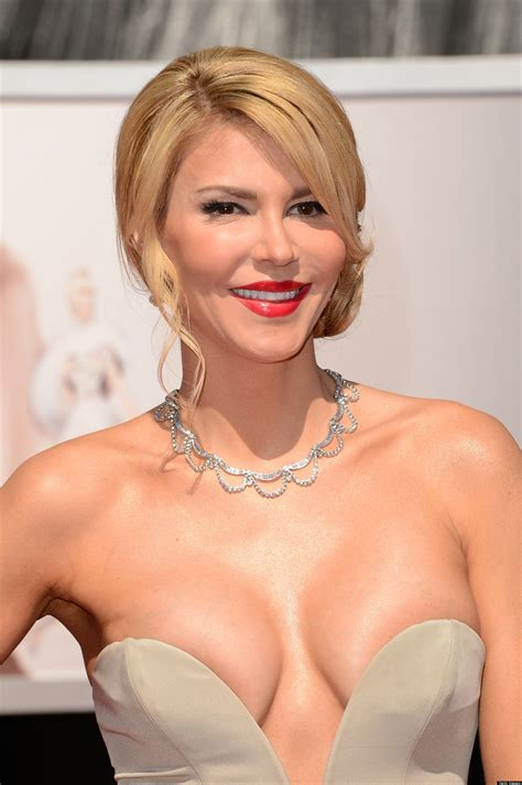 Brandi Glanville And Her Cleavage Were Unexpected Attendees