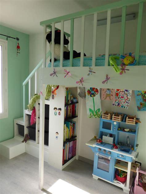 Lit Fille Ikea Diy Ikea Hackers Lit Mezzanine Pour Fille Enti 232 Rement 224 Base De Meuble Ik 233 A Maison