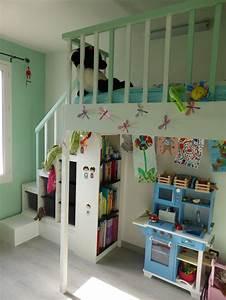 Lit Fille Ikea : diy ikea hackers lit mezzanine pour petite fille ~ Premium-room.com Idées de Décoration