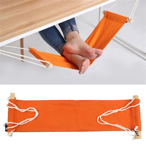 standing desk foot rest study indoor office foot rest stand desk feet hammock easy