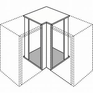 Meuble D Angle Haut Cuisine : meuble de cuisine haut d 39 angle recoupable urban cuisine ~ Teatrodelosmanantiales.com Idées de Décoration