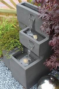 Solar Springbrunnen Balkon : springbrunnen grada bepflanzbar mit led beleuchtung wasserfall gartenbrunnen kaskade ~ Eleganceandgraceweddings.com Haus und Dekorationen