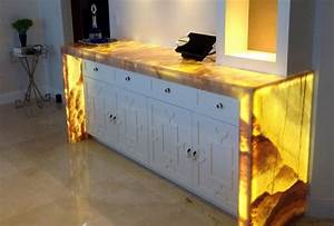 Stunning onyx countertops – unique kitchens with great