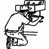Plumber Clipart Plumbing Commercial Clip Library Cliparts 20clipart Clipground sketch template