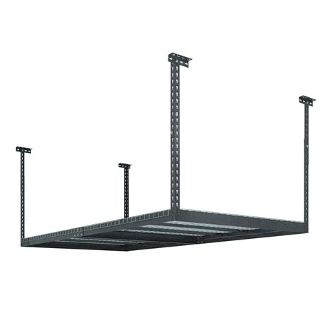 newage ceiling storage rack canada newage products performance 96 in l x 48 in w x 42 in h