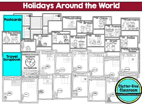 holidays   world   students clutter