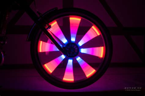 Wheel Lights by Led Wheel Lights For Bicycle Led Bike Radlicht Aoxoa