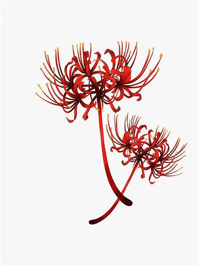 Spider Lily Ghoul Tokyo Sticker Flower Lilly