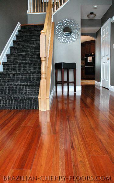 cherry wood floor cherry floors look so