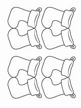 Socks Coloring Pages Printable Mycoloring sketch template