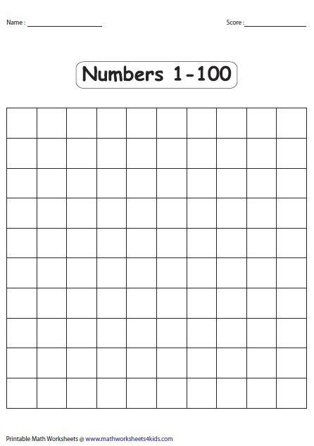 blank charts   pages kids handwriting
