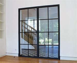 Wohnzimmertür Mit Glas : schlanke stahl glas t r crittal in 2019 innent ren zimmert r glas und wohnzimmert r ~ Watch28wear.com Haus und Dekorationen