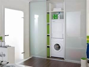 Waschmaschinen Erhöhung Selber Bauen : waschmaschinen schrank im bad badideen pinterest ~ Michelbontemps.com Haus und Dekorationen