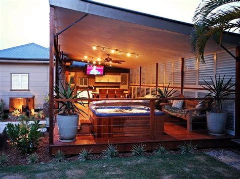 Outdoor Living  Enclosed Patio, Porch Or Deck Tropical