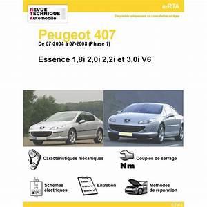 Fiche Technique Peugeot 2008 Essence : revue technique peugeot 407 essence phase 1 rta site officiel etai ~ Medecine-chirurgie-esthetiques.com Avis de Voitures
