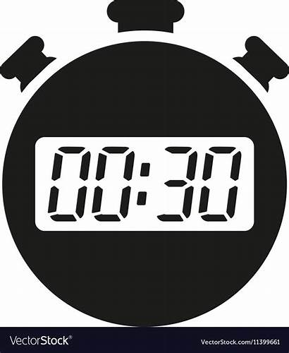 Clock Seconds Minutes Stopwatch Timer Icon Countdown