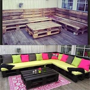 Acheter Meuble En Palette Bois : recyclage palette de bois meubles en palettes de bois ~ Premium-room.com Idées de Décoration