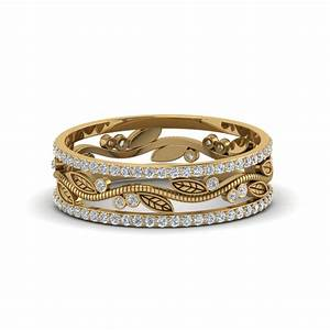 glance through our 18k yellow gold wedding rings for women With thick band wedding rings