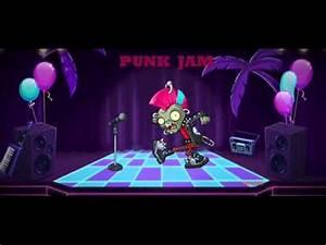 Plants vs Zombies 2 Neon Mixtape Tour Punk Jam
