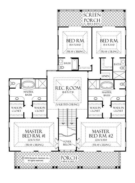 house plans 2 master suites single one level house plans with two master suites arts bedroom