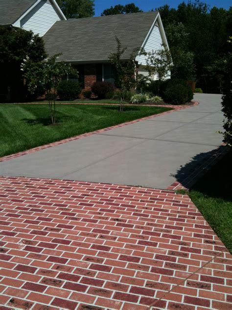 driveway ideas decorative concrete resurfacing