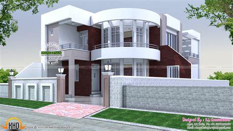 home design plans 40x75 modern house plan kerala home design and